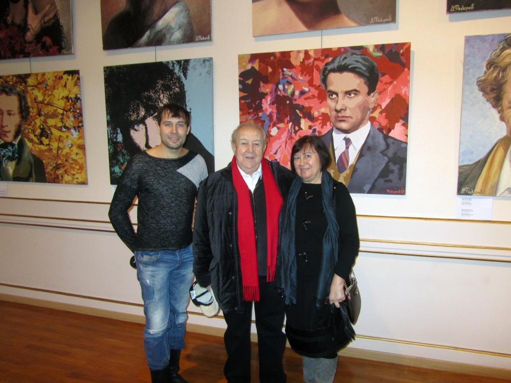 Даниил Федоров выставка в Париже