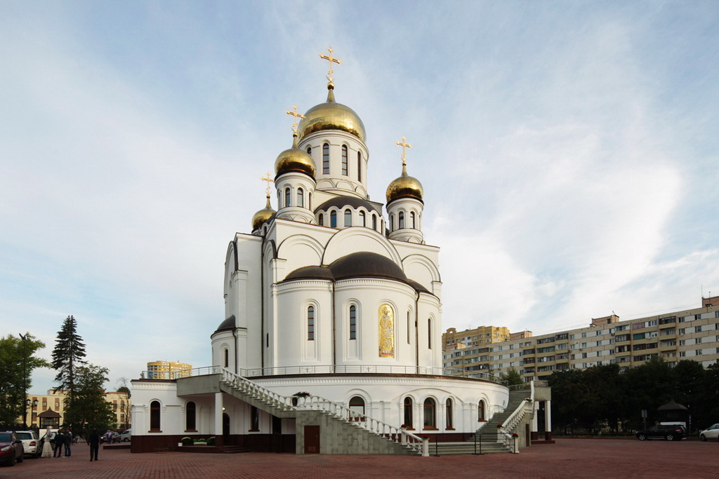 Евгений Суворов о строительстве храма в Реутове