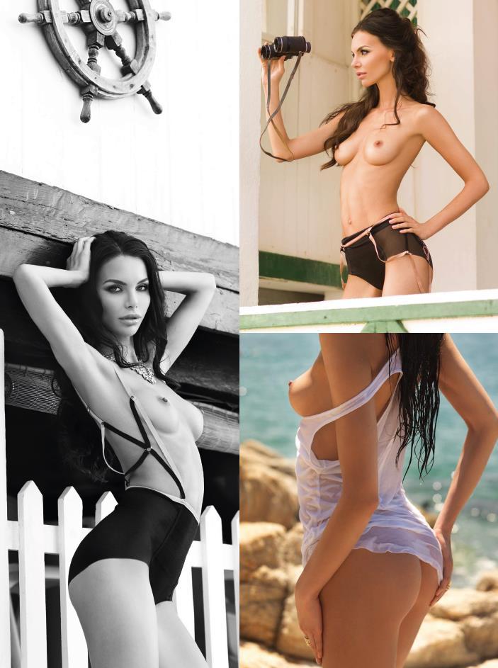 Olga Rom for Playboy